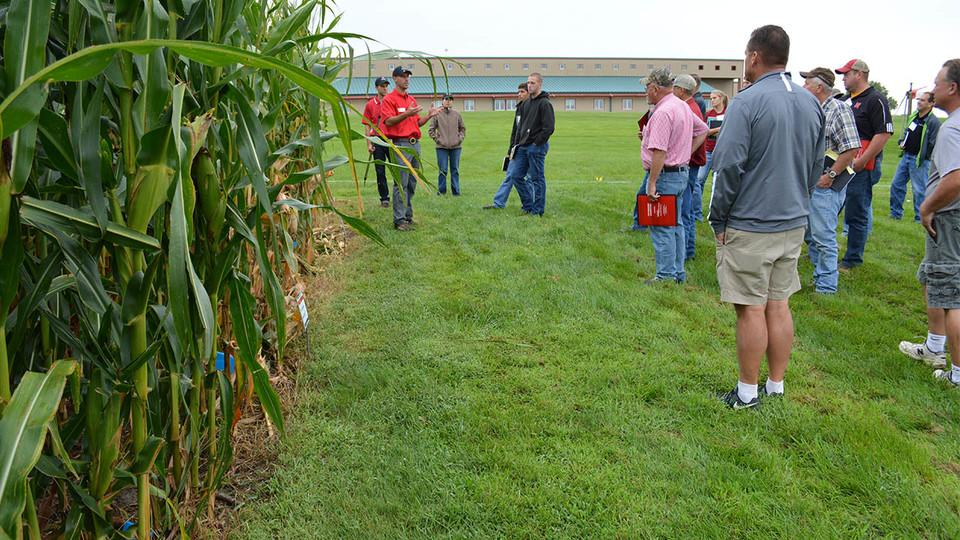 Extension Educators giving a tour
